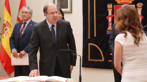 El presidente de la Junta de Castilla y León, Juan Vicente Herrera. Foto ICAL