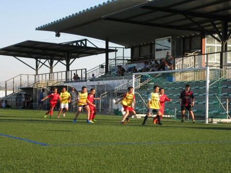 Partido de fútbol 7. Foto deportes.guijuelo.es.
