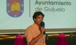 José Ignacio Cascón durante la presentación de un evento. Foto. Archivo.