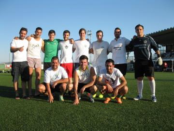 Los amigos de los K-my-k-zes. Foto deportes.guijuelo