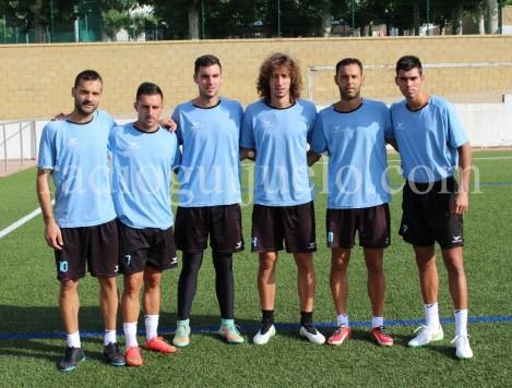 Los nuevos jugadores del CD Guijuelo.