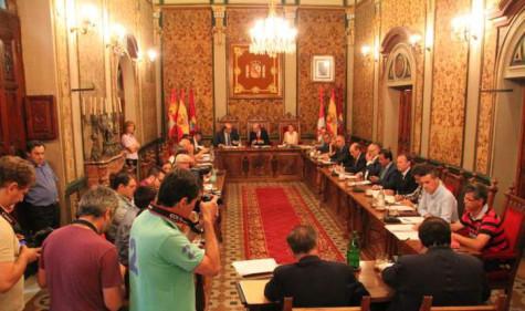 Pleno de la Diputación de Salamanca. Foto Salamanca24 horas.