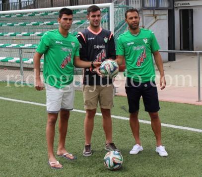 Presentación de Ángel Lerma, kike Royo y Ángel Sánchez.