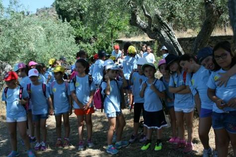 NIños y Niñas de la Semicolonias en los Arribes del Duero