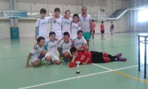 lunes Futbol sala CAMPEONES ALEVINES foto rosana sanchez