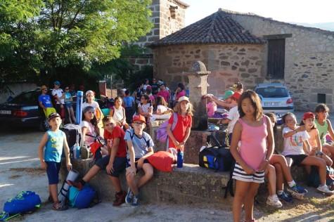 Campamento de la Parroquia en La Solana. Foto P.J.