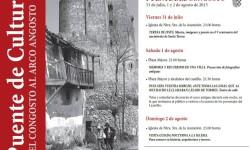 Fin de semana cultural en Puente del Congosto