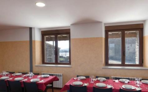 Detalle interior albergue Salvatierra