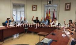 Sesion plenaria del Ayuntamiento de Guijuelo