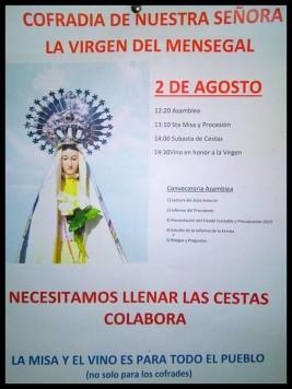 Cartel Cofradía Mensegal