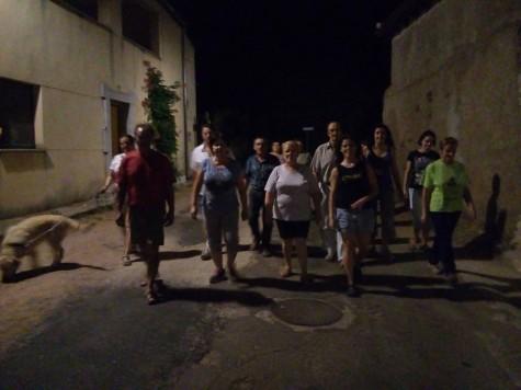 Caminantes en Ruta. Foto Maria Teresa García