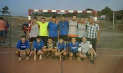Equipo participante en San Esteban. Foto Ayto San Esteban