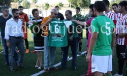 Momento homenaje Agustín Villar