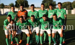 Once inicial partido ayer.