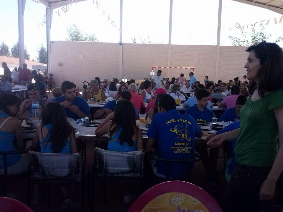 Fiestas Montejo. Foto Begoña Mellado