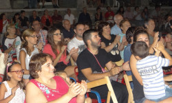 Actuación Spasmo ayer. foto Ayto Ledrada.