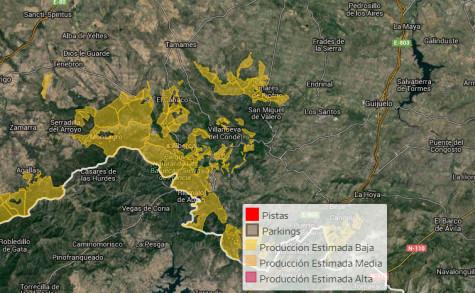 Área reguladora de la zona de la Seirra de Francia, Béjar, Quilamas y El Rebollar