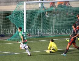 Aitor Aspas autor del cuarto gol ante el Celta B