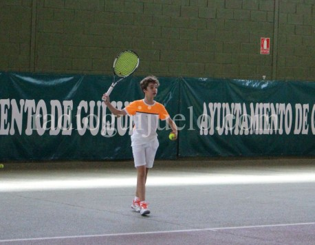La tenista guijuelense Paula Sánchez.