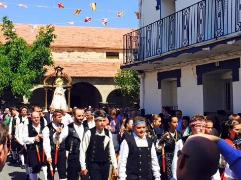 Fiestas en Cespedosa. Foto Javier Gómez.