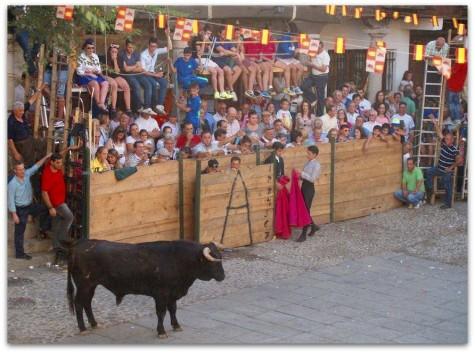 Fiestas en San Esteban de la Sierra. Foto Asociación Peña del Cristo.