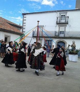 Fiestas en Valdelacasa. Foto Celia Rodríguez.