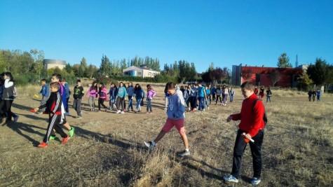 Convivencia de alumnos y profesores de 1º de la ESO organizada por Guijuelo Joven
