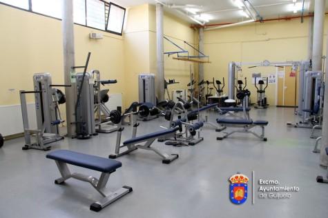 Gimnasio del Pabellón Municipal.