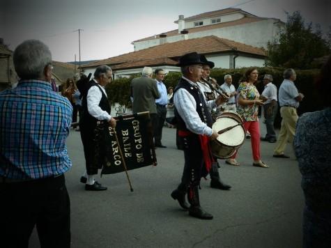 Fiestas en San Miguel de Valero. Foto Mercedes Hernández.
