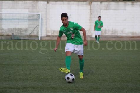 Porras, jugador del Guijuelo B.