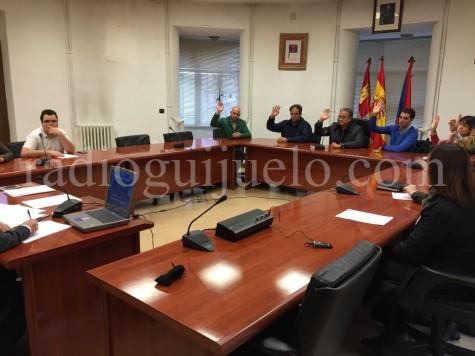 Sesión plenaria extraordinaria del Ayuntamiento de Guijuelo.
