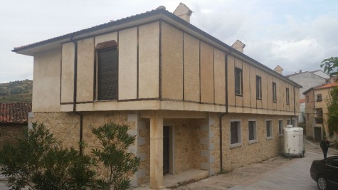 Residencia de San Esteban. Foto Ayto. San Esteban.