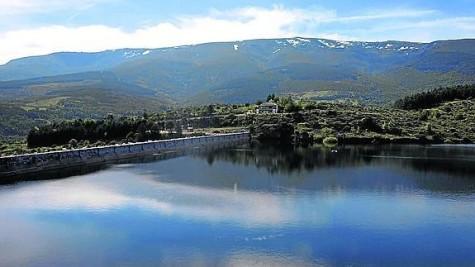 Embalse de Béjar. Foto Norte de Castilla.