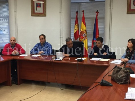 Pleno celebrado en el día de hoy en el Ayuntamiento de Guijuelo.