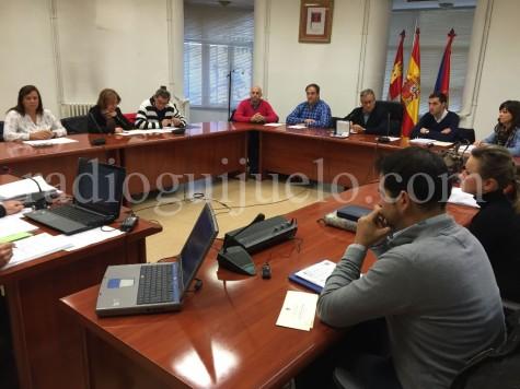 Pleno del Ayuntamiento de Guijuelo.