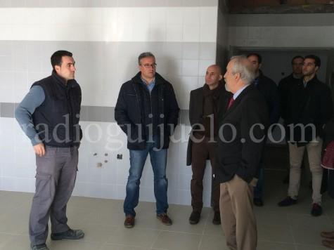 Visita a las instalaciones del futuro Albergue.
