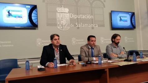 Presentación centro BTT de Cristóbal. Foto Diputación de La Salina