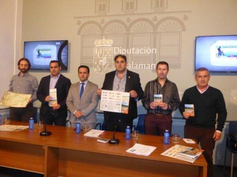 Presentación centro BTT de Cristóbal. Foto Diputación de La Salina.