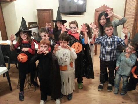 Fiesta de Halloween en Salvatierra. Foto Albergue de Salvatierra