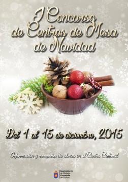 viernes CARTEL I CONCURSO CENTROS DE NAVIDADWEB
