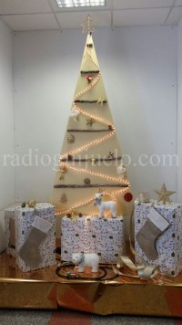 Árbol de Navidad en la Residencia.