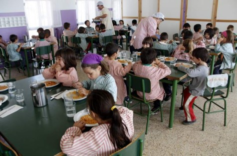Comedor escolar. Foto 20minutos.es.