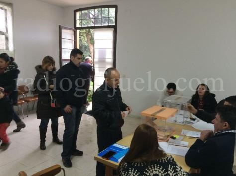 Votaciones en Guijuelo.
