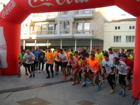 Participantes de la IV edición del Jamón Veloz. Foto club atletismo Guijuelo