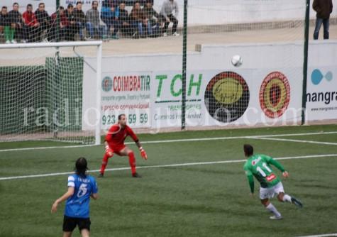 Néstor Gordillo autor de dos goles en la tarde de ayer.