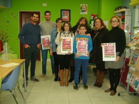 Ganadores del concurso de puzzles.