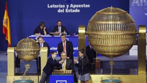 Sorteo de la Loteria Nacional. Foto La Vanguardia