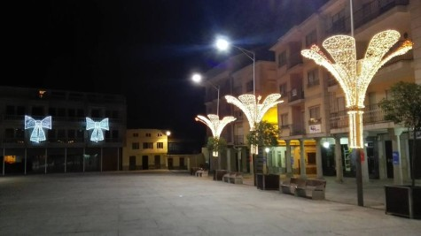 Plaza Mayor de Guijuelo. Foto T.D.