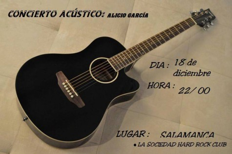 viernes 18 dic ALICIO EN SALAMANCA