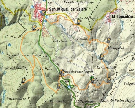 Ruta por San Miguel de Valero. Foto Masqueandar.